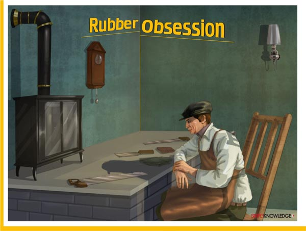 rubber-obbesion