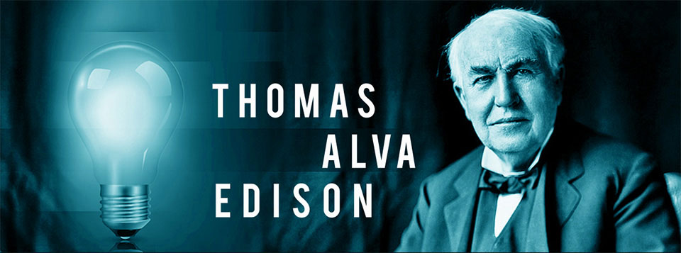 an introduction to the life of thomas edison The following is only a brief sketch of an enormously active and complex life   thomas alva edison was born to sam and nancy on february 11, 1847, in milan,  ohio  the introduction of an edison disc was in reaction to the overwhelming.