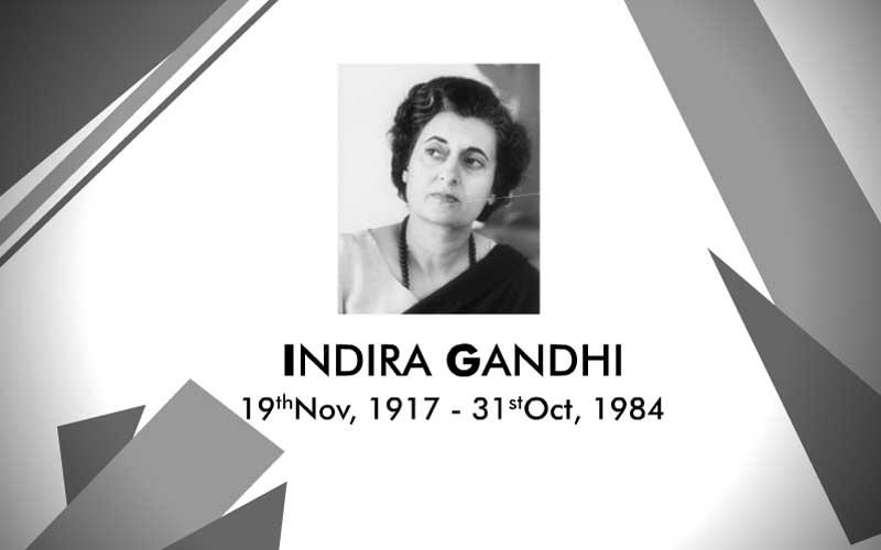 indira gandhi born