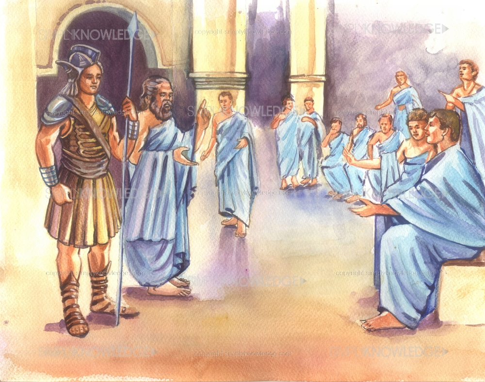 socrates first accusers and the athenian law Satirizing socrates, is performed for the first time the amnesty of eucleides is passed completely revising athenian law and pardoning all prior offenses the three accusers of socrates apology (plato's account) apology of socrates.