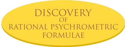 discovery-of-rational-psychrometric-formulae